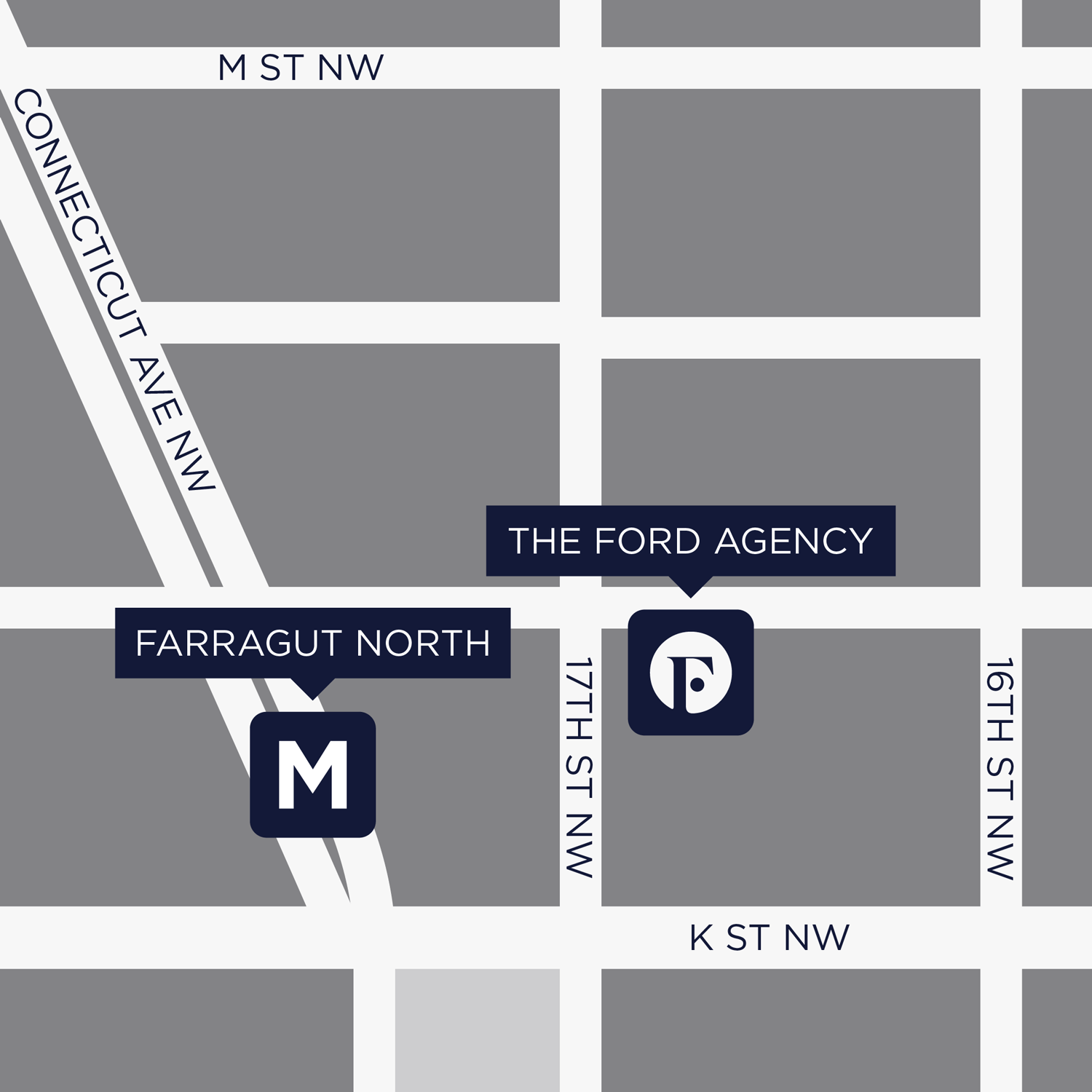 Ford Agency Location | 1660 L Street NW, Suite 608 Washington, DC 20036